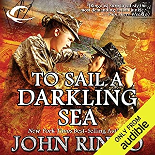 To Sail a Darkling Sea audiobook cover art