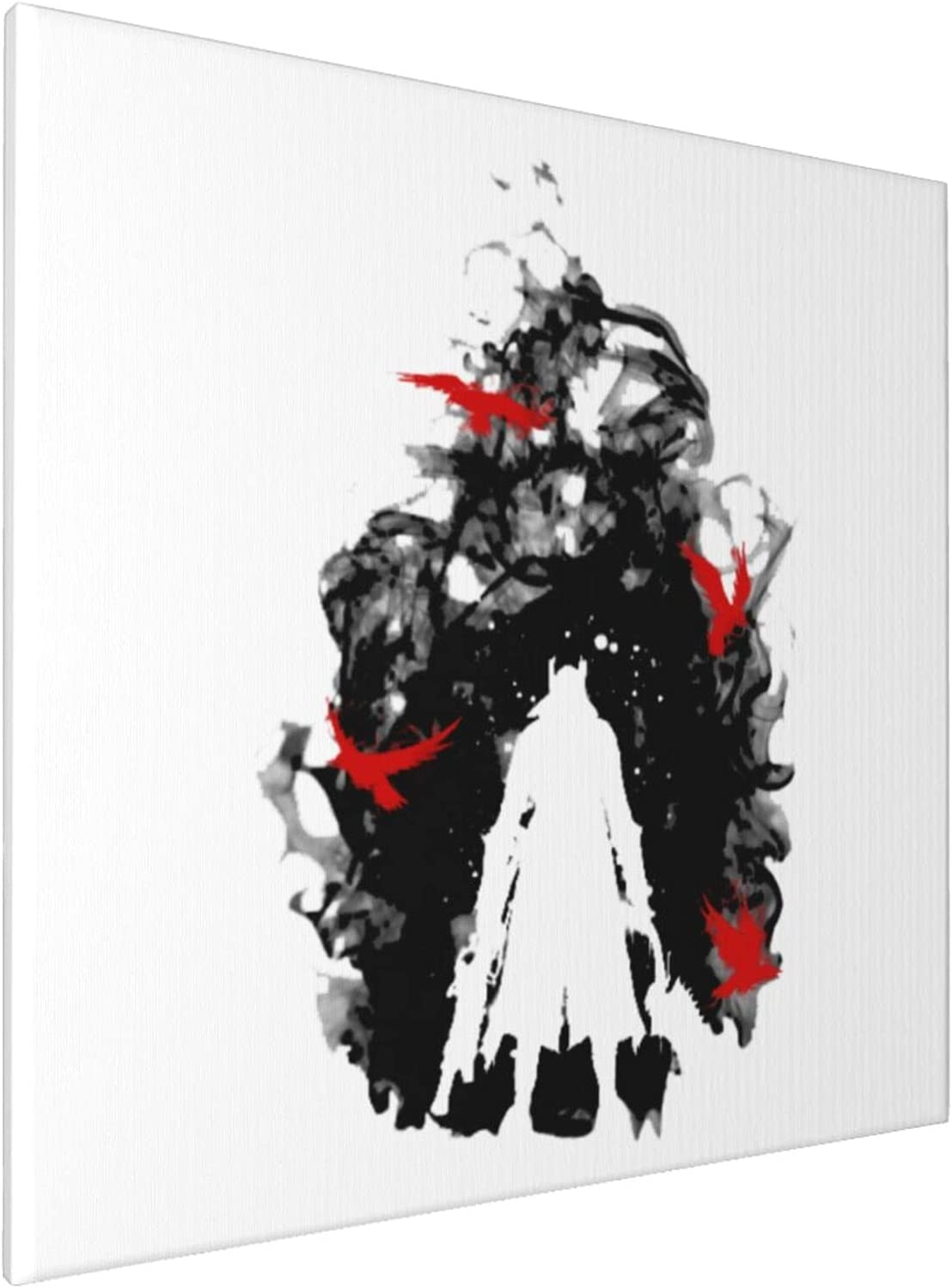 Canvas Prints Wall Art Paintings(20x20in) Bloodborne Born By The Blood Pictures Home Office Decor Framed Posters & Prints