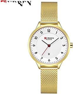 Watches For Women's Luxury Gold Steel Quartz Watch Women Fashion Ladies Clock