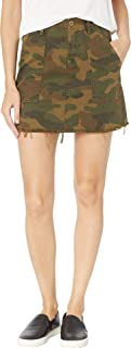 Blank NYC Women's Camo Mini Skirt in Chain of Command