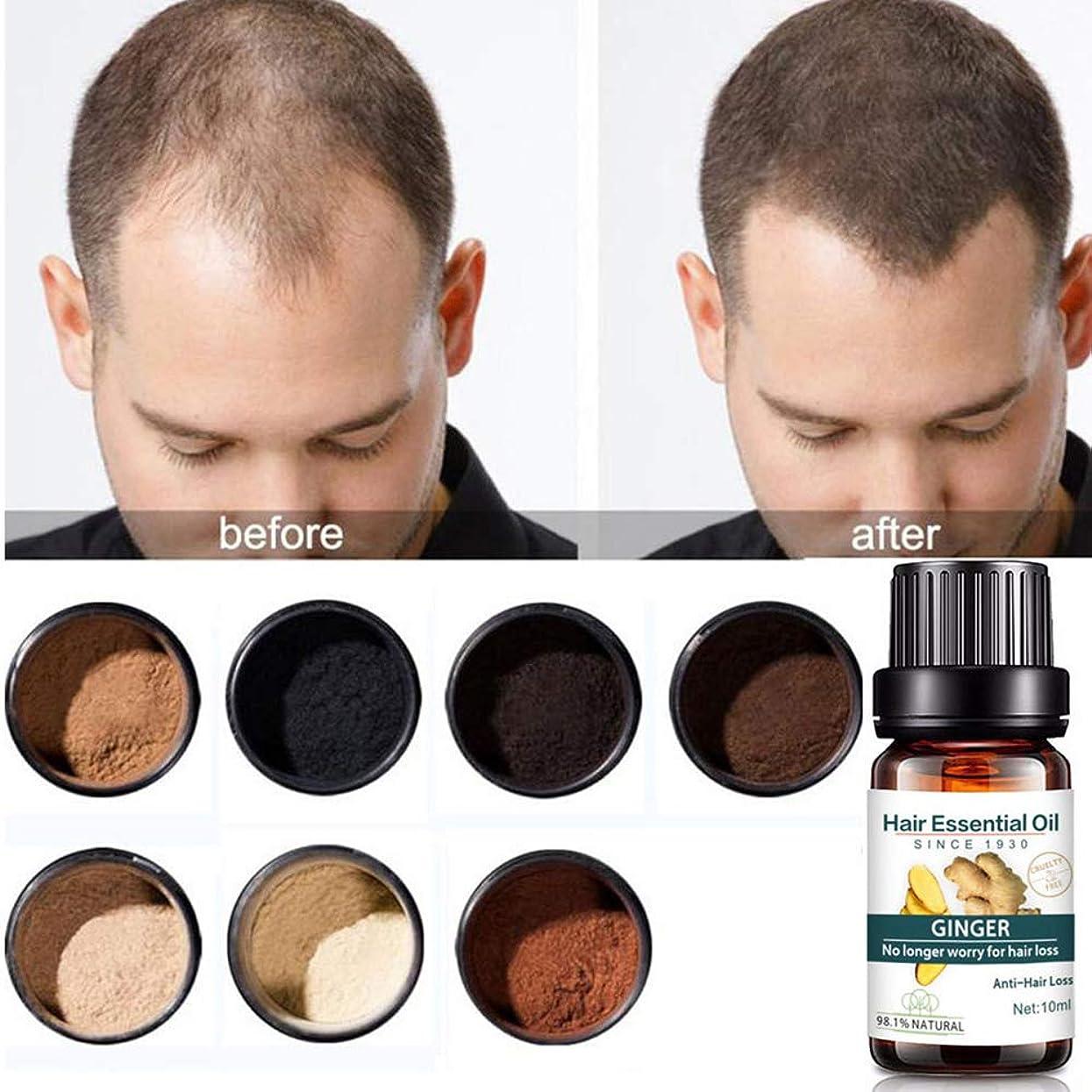 ワークショップアドバイス予想する育毛トリートメントオイル、育毛セラム、育毛ジンジャーオイル、抜け毛を防止、育毛促進