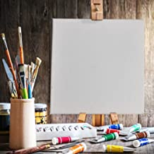 5X Blank Artist Stretched Canvas Canvases Art White Oil Acrylic Wood 20x30cm 20 * 30CM 20 * 30CM