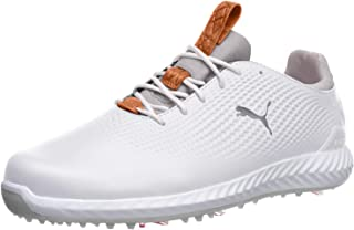 PUMA Men's Ignite Pwradapt Leather Golf Shoe