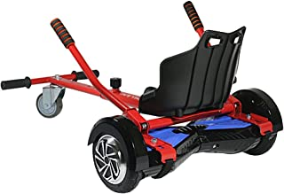 Pilan Cool Mini Kart Hoverboard Accessories for Adjustable -All Heights- All Ages- Self Balancing Scooter -Compatible with All Hoverboards (Not Included Balance Board? …
