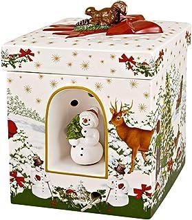 Villeroy & Boch Árbol de Navidad, Porcelana, Multicolor, 16 x 16 x 21,5 cm