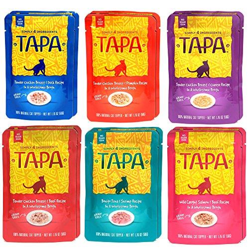 TAPA Natural Wet Grain Free Cat Food Variety Pack