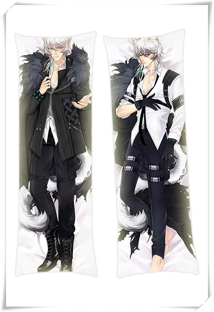 GoLookSky Silver Ash Arknights Japanese 180x60cm Today's only Anime Excellence Sk Peach