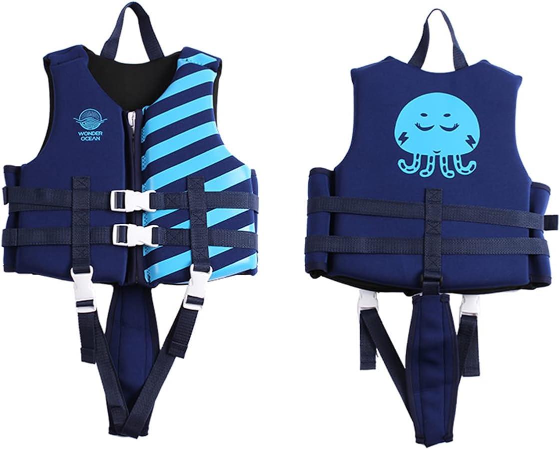 HWZZ Neoprene Floating Life Jacket Vest Cheap bargain - Summer service for Child Kids