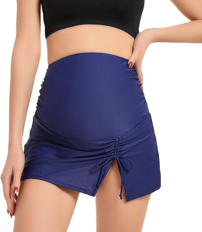 Long-awaited Bhome Maternity Swim Skirt Over Belly Swimsuit The Bottom trust Bikini