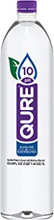 Qure Alkaline Water, 33.8 Ounce (Pack of 12)