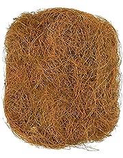 K-Park Artykuły dla ptaków mata palmowa kokosowa, ochrona przed zamarzaniem i zimnem gniazdo budynek ukryte artykuły dla ptaków 250 g/ 500 g sensowne