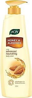 Joy Honey & Almonds Advanced Nourishing Body Lotion 500 ml, For All Skin Type