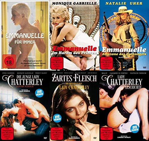 Emanuelle & Lady Chatterley – Sexy Classic Collection - 8 DVD Limited Edition