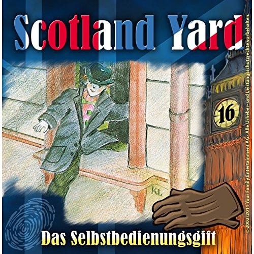 Das Selbstbedienungsgift (Scotland Yard 16) Titelbild