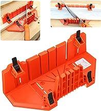 LMIAOM Caja de inglete de 14 pulgadas Caja de gabinete de sierra Carpintería herramienta de corte de clip de mano oblicua de ángulo Accesorios de hardware Herramientas de bricolaje