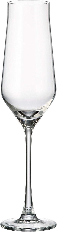 Crystalite Bohemia Ranking TOP3 Alca High material Non-Lead Crystal Stemware Wine Glasses C