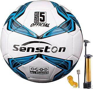 Senston Balon de Futbol Tamaño 4/5 Balones de Futbol Training Balón Balones de Fútbol de Entrenamiento