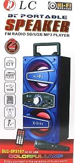 DLC BT Portable Speaker FM Radio, SD, USB, MP3, DLC-SP3167