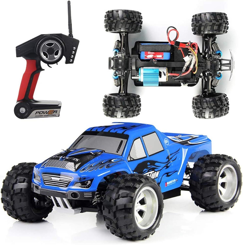 barato Qiulv 1 1 1 18 WD RC Calesa Tractor Rock Coche 2.4G Cuatro Ruedas Conducir Camión Remoto Controlar Alpinismo Fuera del Camino Vehículo por Adulto Y Niño Regalo,azul  Ahorre hasta un 70% de descuento.