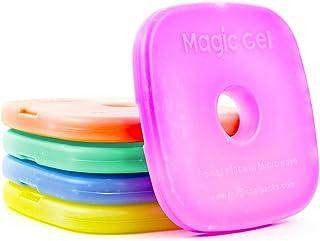 5x caja de almuerzo refrigeradores por MagicGel. Slim