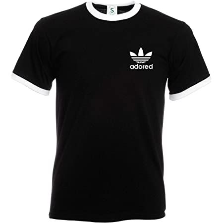 Fruit of the Loom Ian Brown Wanna Be Adored Tribute T-Shirt Spike Island Ringer