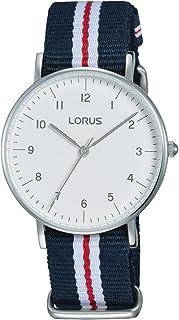 7aaf2ada1 Lorus Reloj Analógico para Mujer de Cuarzo con Correa en Tela RH805CX9