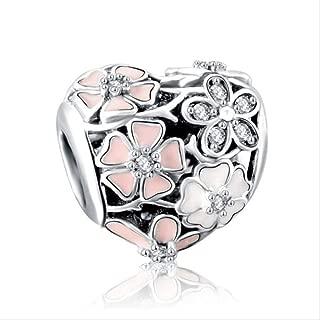 Joyas 1pc Flecha De Cupido Amor Script Amor Notas Dados Mum BOT Arco Corazón DIY Perla Fit Pandora Charms A1646
