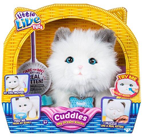Little Live Pets Peluche a Forma di Gattino, Colore Altro, Norme, LPD00