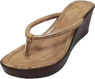 Lazera Fashion Sandals Platform heel Gold
