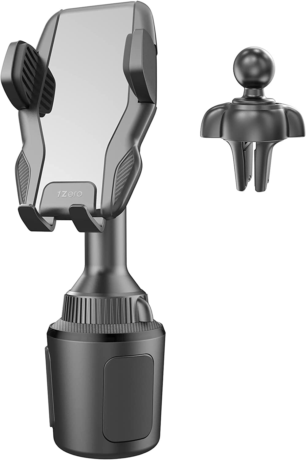 1Zero Solid Car Cup Holder Outstanding Max 55% OFF Phone Mount with in 1 Vent 2 Clip