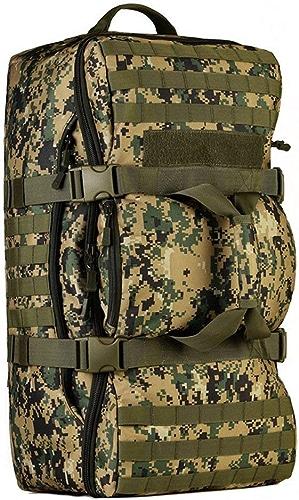 Hung Kai 60L Sac à Dos Tactique Militaire Armée Combat Sac à Dos Trekking Molle Sac à Dos Randonnée