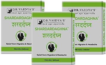 Dr. Vaidya's New Age Ayurveda | Shardardaghna | Ayurvedic Pills For Headache and Migraine | 24 Pills Each (Pack of 3)