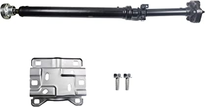 LOSTAR Complete Rear Drive Shaft Assembly with Center Support Bearing for 2003-2010 Porsche Cayenne, 2004-2010 VW Touareg
