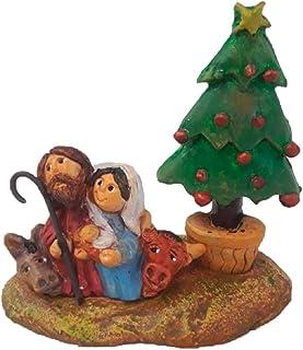 Belén Navidad Cerámica Abeto
