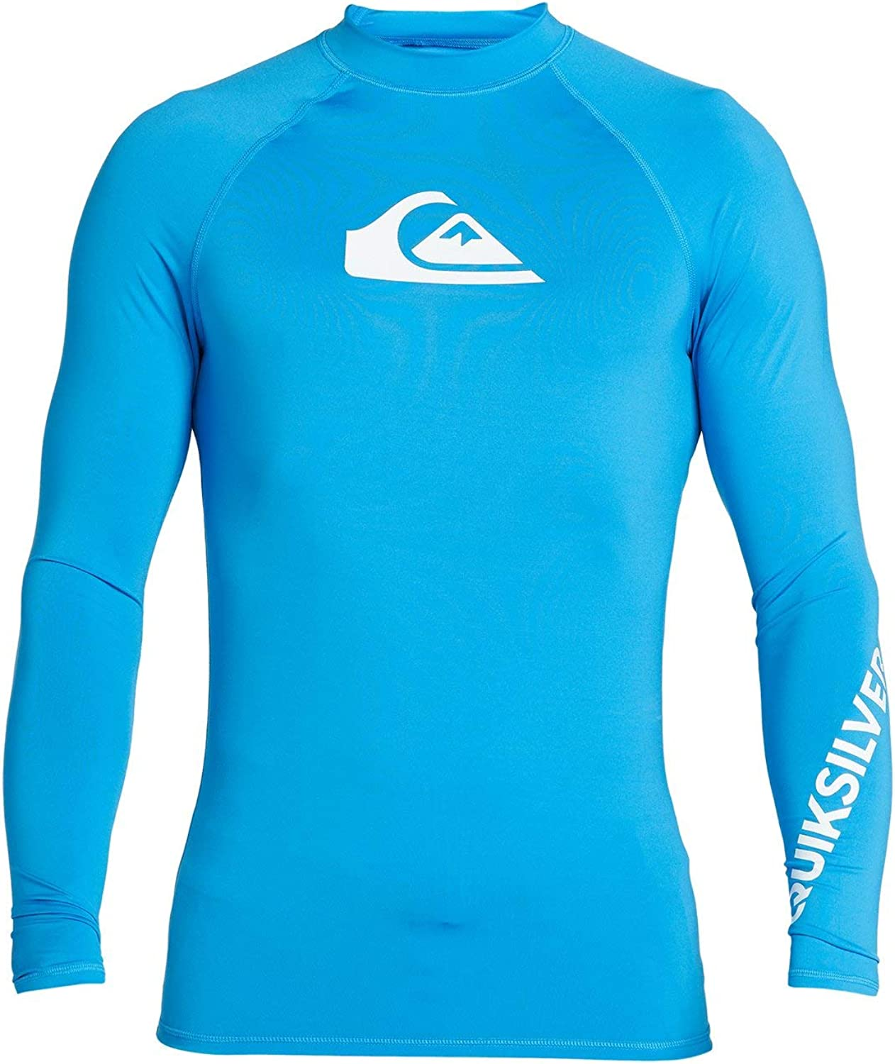 Quiksilver All Time Rash Vest New Shipping Free Shipping Long Beach Mall