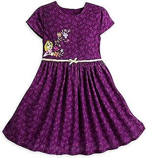 ディズニー プリンセス ラプンツェル ワンピース 半袖 ドレス 110cm 4歳 女の子 子供 キッズ Tangled 4