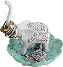 Evelots Ring Holder-Good Luck Elephant-Jewelry Bowl/Stand-Earring/Necklaces