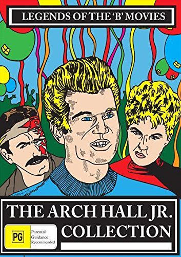The Arch Hall Jr. Collection (6 Films) - 3-DVD Set ( The Choppers / Wild Guitar / Eegah / The Sadist (Profile of Terror) / The Nasty Rabbit / Deadwood \'76 (Dead [ Australische Import ]