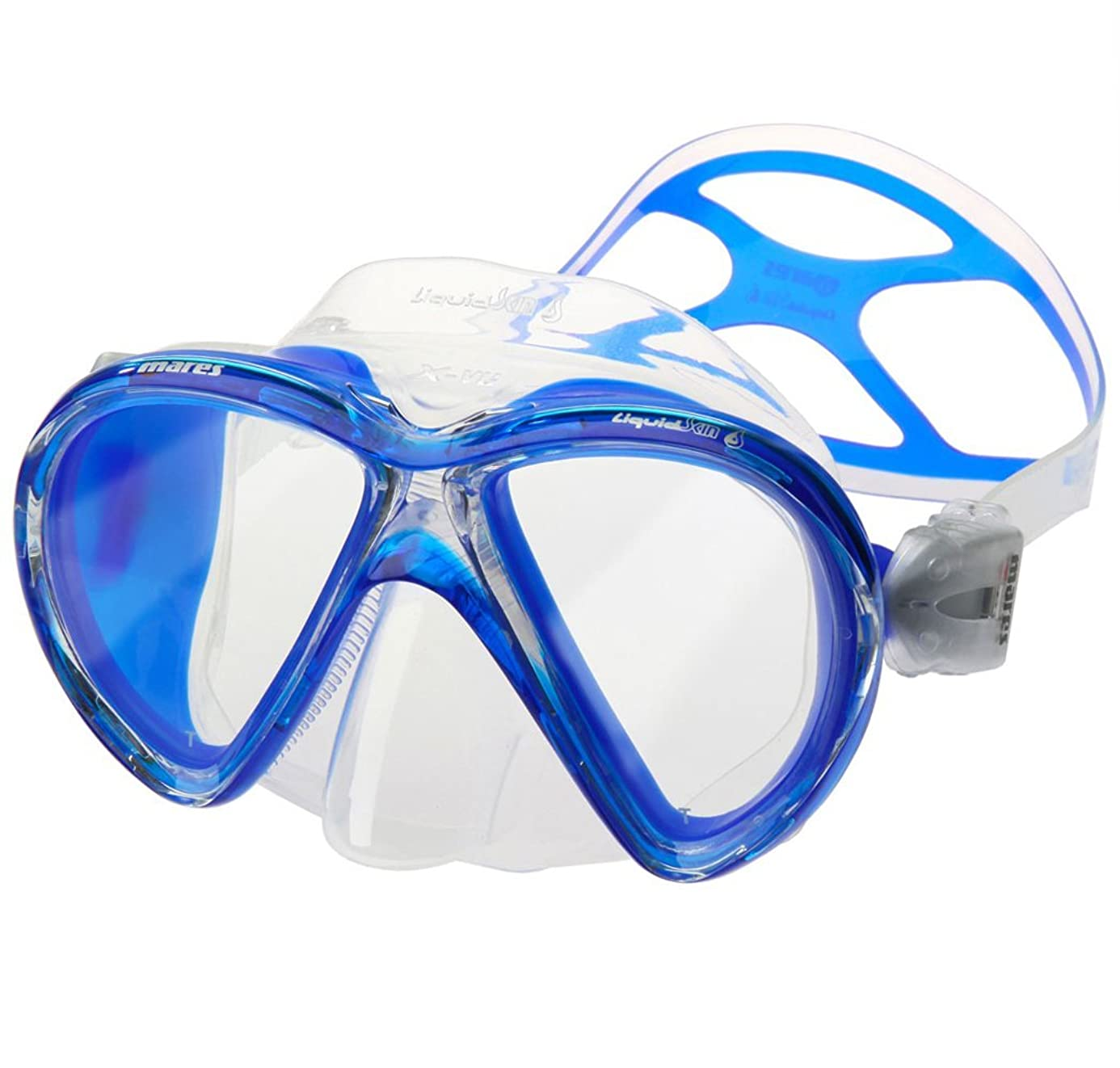 Mares X-VU Liquidskin 2 Window Scuba Diving Mask