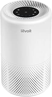 LEVOIT Air Purifier for Home Allergies and Pets Hair, Smokers, True HEPA Filter, Quiet Filtration System in Bedroom ,2-Yr Warranty, Removes Smoke Odor Dust Mold, Night Light & Timer, Vista 200