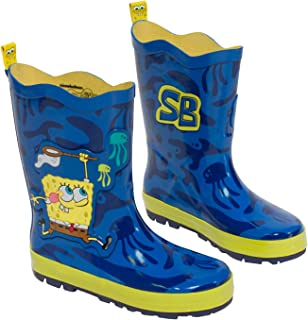 spongebob rain boots for toddlers