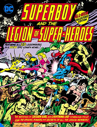 Compare Textbook Prices for Superboy and the Legion of Super-Heroes Tabloid Edition  ISBN 9781779513359 by Levitz, Paul,Grell, Mike