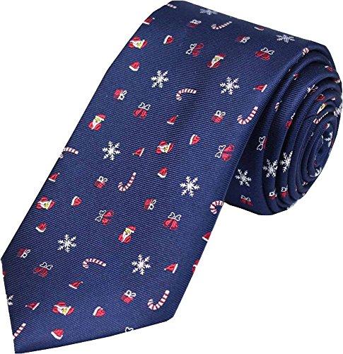 Cravatte di seta natalizia di David Van Hagen