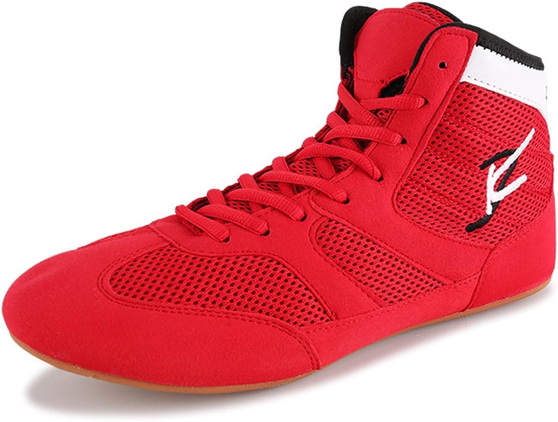Breathable Wrestling shoes Boots for Men Women Kids