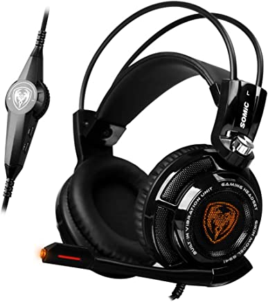Per PS4 Xbox One PC The Gaming Headset Features 7.1 Stereo Surround Sound Noise Cancelling Microfono Cuffie PS4 Con Controllo Muto E Volume Per Laptop Mac,Black - Trova i prezzi più bassi