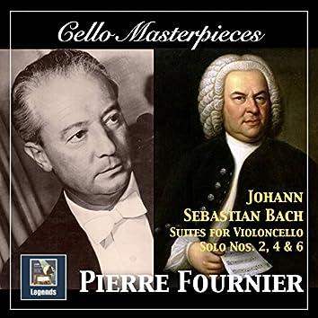 Cello Masterpieces: Pierre Fournier — Johann Sebastian Bach Suites for Cello Nos. 2, 4 & 6 (Remastered 2017)