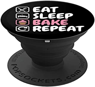 Cupcake Baking Gift - Love to Bake PopSockets Grip and Stand for Phones and Tablets