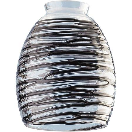 Westinghouse 8140900 2.25 in Handblown Charcoal Swirl Glass Shade