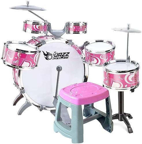 Bass Drum Baby Anf er Drum-Set 1-3-6 Jahre Alte Spielzeug-Trommel Percussion