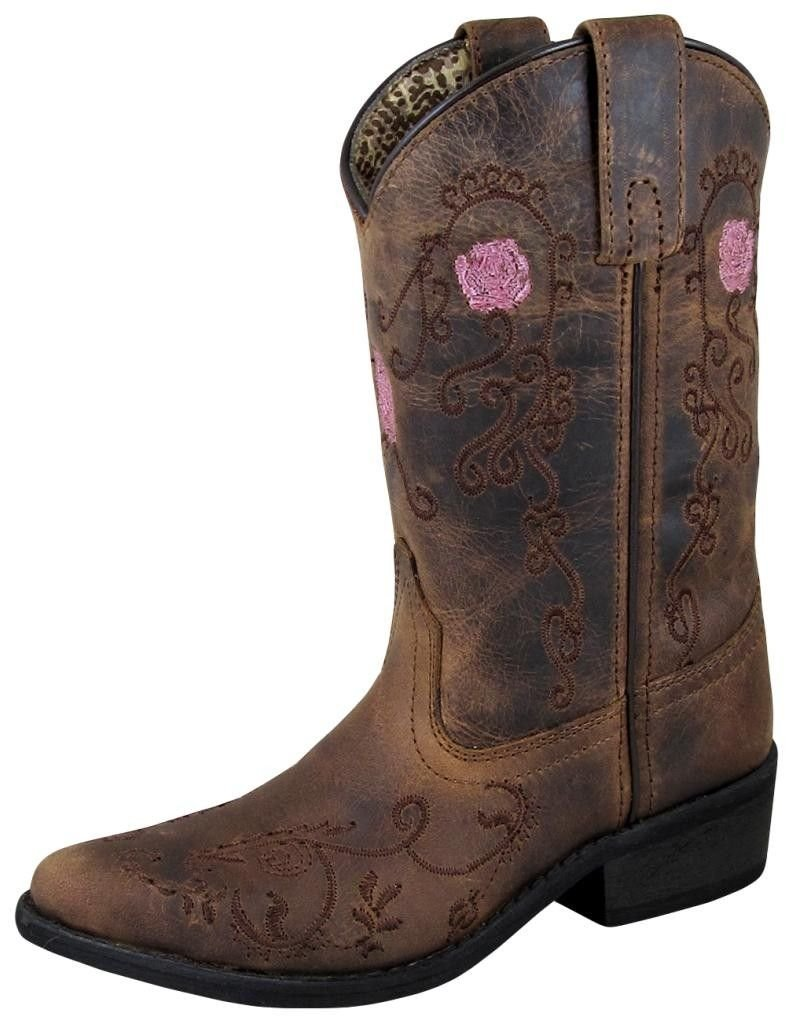 Smoky Mountain Childrens Embroidered Boots